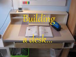 Schreibtisch Simpel Building A Desk Schreibtisch Bauen Timelapse Youtube