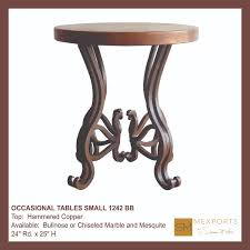 Small Round Tables by Occasional Tables Small Archives Mexports By Susana Molina Fine