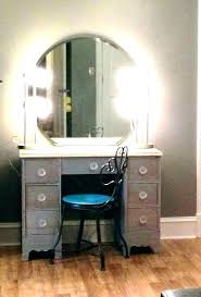 vanity table with lighted mirror and bench black makeup vanity table vanity makeup table set modern bedroom