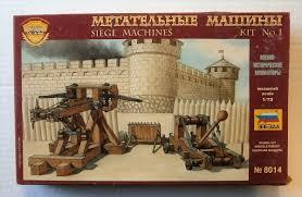 siege machines zvezda 1 72 8014 siege machines 1 model figures