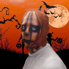 pumpkin head scary halloween face mask u2013 clubit co uk ltd