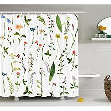 Floral Curtains Watercolor Floral Curtains