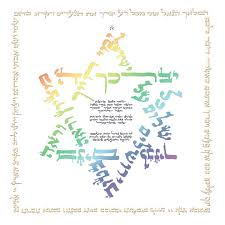 blessing baby hebrew calligraphy baby blessing