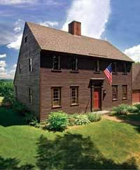 saltbox style home green design 101