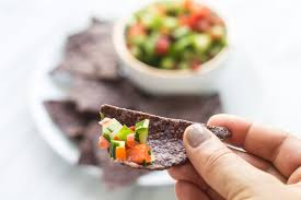 Fod Map Low Fodmap Salsa With Blue Corn Chips Fun Without Fodmaps