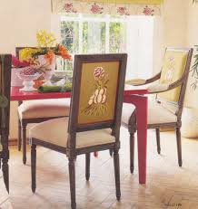 furniture chic upholstery fabric dining chairs upholstered