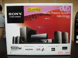 sony home theater dvd system sony bravia home theater dav dz340 5 1 1000watt rms clickbd