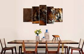 home interior tiger picture amazon com so 5 wall painting tiger pictures