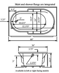 innova prodigy 60 x 36 whirlpool tub