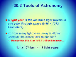 How Many Years In A Light Year Unit 4 Chapter 30 What Is Astronomy In This Chapter We Will