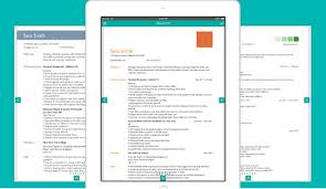 Resume Designer App How To Prepare Your Resume On Iphone 4 Resume Apps Iphoneness