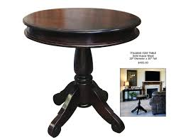 side accent tables round accent tables elegant small dark wood side table impressive
