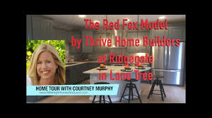 Colorado Home Builders by New Homes In Lone Tree Colorado The Red Fox Model By Thrive Home