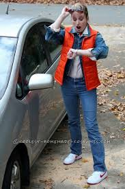 Back To The Future Costume Homemade Family Costume 1980 U0027s Movie Characters