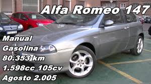 alfa romeo 147 ts progression manual gasolina 80 353km 105cv en