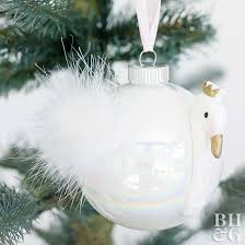 how to make a swan ornament