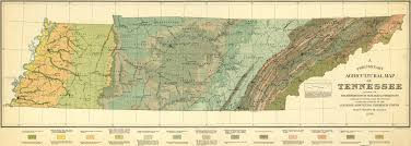University Of Tennessee Map by Geology And Agriculture In Tennessee 1896