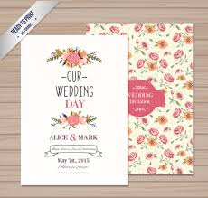 weeding card wedding card vector for free