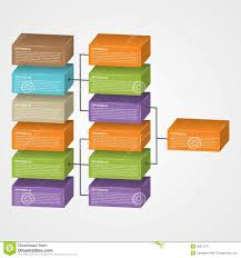 organization chart template stock vector image 40873779