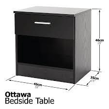 Bedroom Set Used Ottawa Ottawa High Gloss 4 Drawer Chest In 6 Colours Non Scratch Melamine