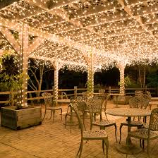 Patio Lights Ideas by Patio Cover String Lights Innovation Pixelmari Com