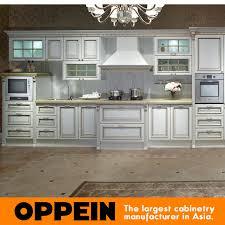 Mdf Kitchen Cabinet Designs - china euro antique line white mdf kitchen cabinets design op13