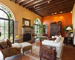 Spanish Style Homes With Interior Courtyards Spanish Home Interiors Spanish Style Home Interior Decorating