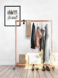 rolling garment rack design interior design ideas