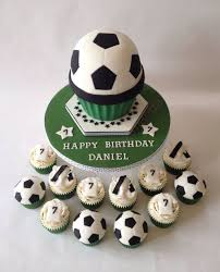football cupcakes football cupcake matching cupcakes cake by cupcakes by