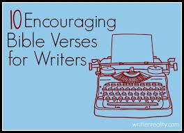 encouraging bible verses writers