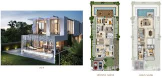 akoya damac hills cluster floor layout plan