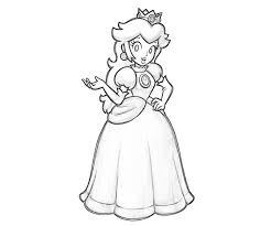 princess peach coloring pages coloring pages wallpaper
