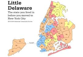 Manhattan New York Map by The Garden State Of New York Jerseyans Move To Manhattan And