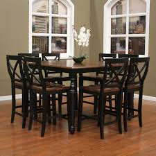 bar style dining table 75 most matchless bar height kitchen table style counter dining room