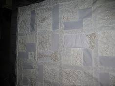 wedding dress quilt happy 3rd anniversary made of honor quilts crafting