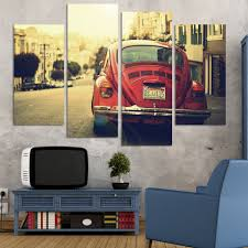 2017 sale paintings fallout vintage style building painting for