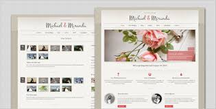 free personal wedding websites wedding classic and theme