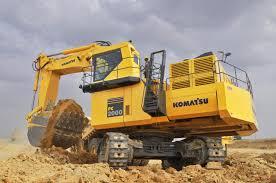 komatsu pc2000 excavator construction u0026 mining equipment india