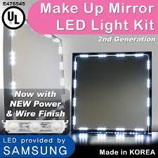 60 off make up vanity led kit mirror kit 10 led vanity lights