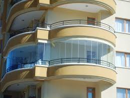modern glazing for balcony or loggia small design ideas
