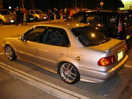 modified toyota corolla 1998 ae101 japan bodykit chassis wise ae110 u003d zze110 and both