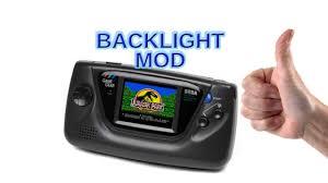 game gear backlight mod gamegear tube sustitution backlight mod youtube