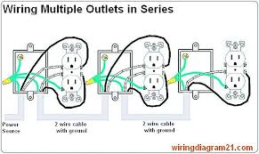 wiring an outlet in series 2 breceptacle 2 bwiring 2 bdiagram