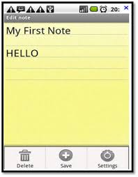 android notepad how to create a notepad for android devices