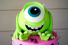 monsters inc birthday cake birthday cakes images adorable monsters inc birthday cake