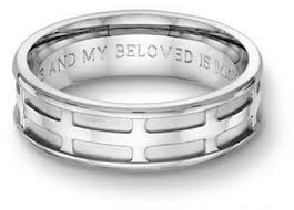 wedding ring engravings engraved wedding ring engraved on the inside wedding ring