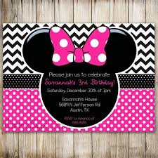 birthday invites marvelous minnie mouse 2nd birthday invitations