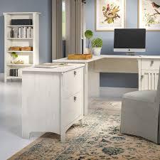 I Shaped Desk Lark Manor Ottman 3 L Shaped Desk Office Suite Reviews