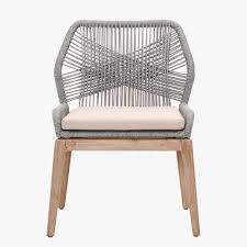 Woven Chairs Dining Set Of Two Luca Platinum Woven Dining Chairs Shop Dining Chairs
