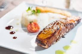 cuisine pav de saumon pavé de saumon sauce teriyaki les arolles cuisine picture of